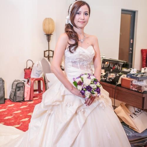 城湧敬淳結婚婚宴-皇璽處女蟳 [Nadia 新秘造型]