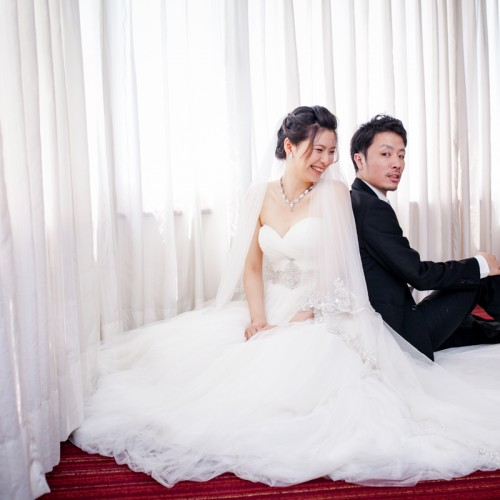 Kaki菊地貴結婚補請-台中福華大飯店 [Nadia 新秘造型]