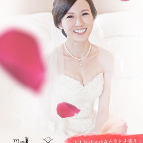 講座:完美新娘的婚前造型計畫講座 + 一日新娘體驗