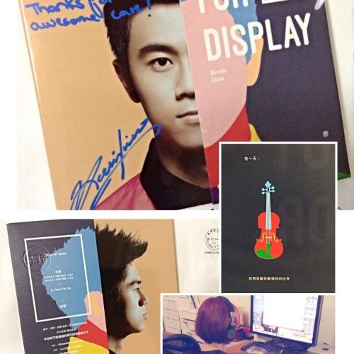 Kevin Liao廖柏雅-非展示品-跨界EP音樂專輯