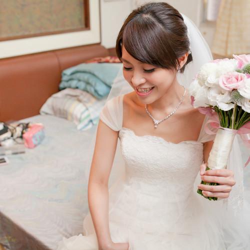斌豪尹薇結婚-石牌天主堂儀式-台南海鮮會館宴客 [彩妝Nadia Lee]