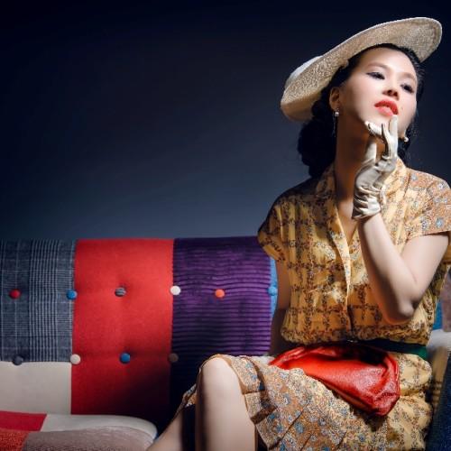 50年代復古造型婚紗