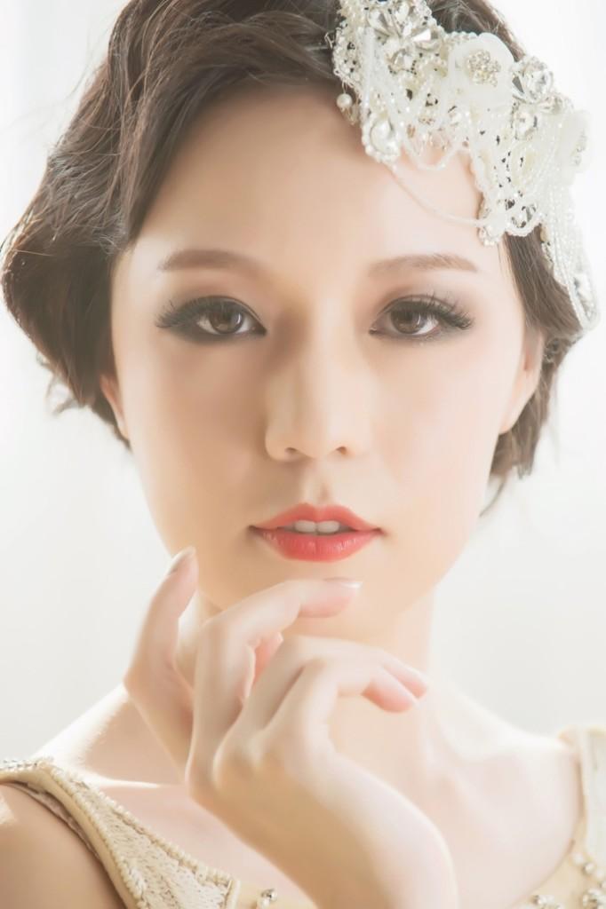 旗袍造型,時尚性感風格,復古時尚,煙燻眼妝,宴會妝,美妝部落客推薦,女神推手
