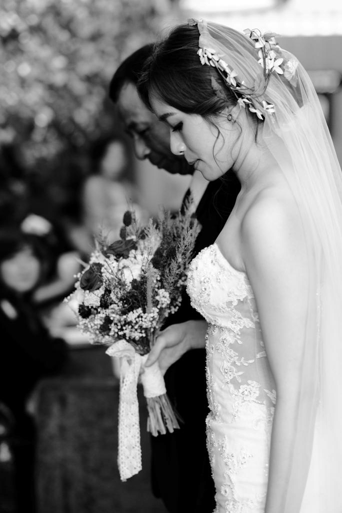 白紗造型,優雅氣質,仙女新娘,新娘彩妝