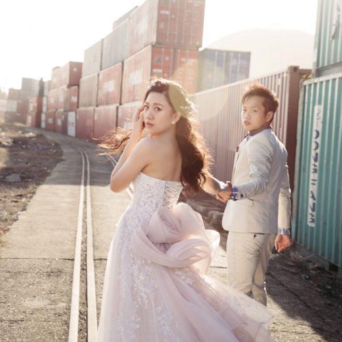 [新秘NadiaLee]宥彤珮宜婚紗造型-台中旋轉木馬婚紗