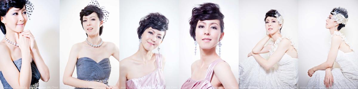 Nadia短髮創作照片