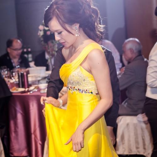 偉宸珮甄歸寧婚宴-台中裕元花園酒店 [Nadia 新秘造型]