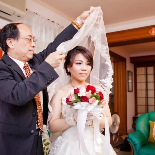 筑筠結婚儀式婚宴 [Nadia 新秘造型]