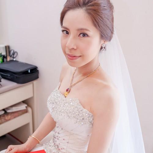 珮菁結婚單妝-自宅 [新秘造型Nadia]