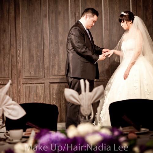 [推薦新秘Nadia Lee ]于璇結婚婚宴-台北君品酒店