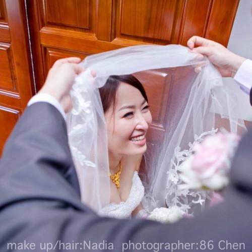 佳惠嘉峻結婚婚宴-彰化花壇全國活海鮮餐廳  [Nadia 新秘 造型]