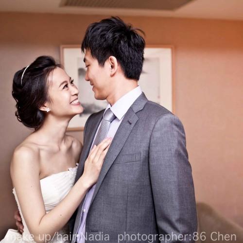 詒均結婚補請-神旺大飯店 [台中新秘NadiaLee新娘彩妝]