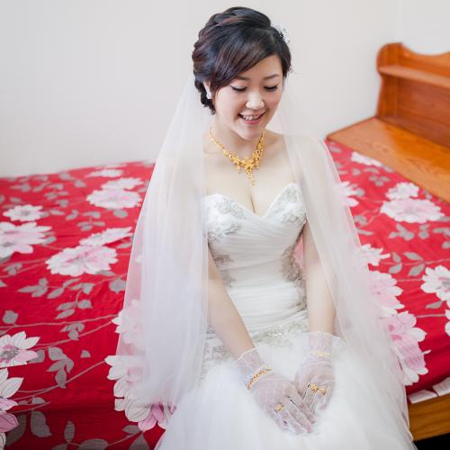 昱萱哲銘結婚儀式 [彩妝師 Nadia新秘造型]