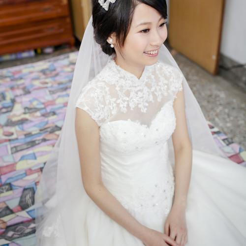 家毓亭雯結婚儀式-台中自宅 [彩妝師Nadia Lee]