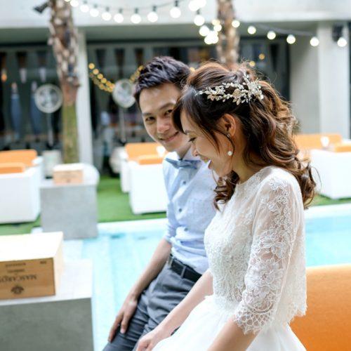 台中新秘推薦NADIALEE /佑珊婚禮宴客新娘造型戶外婚禮-Beluga Restaurant & Bar