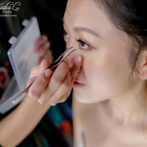 台中彩妝教學推薦 -新娘眼妝