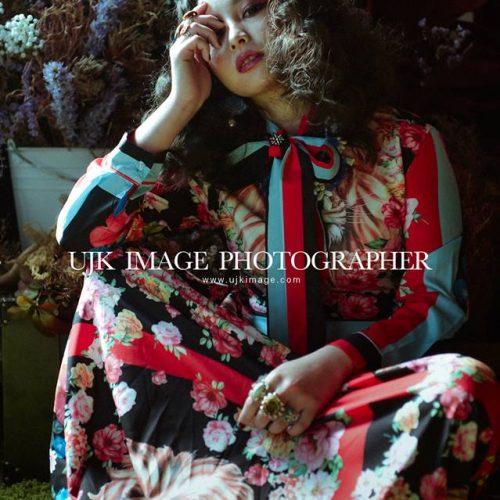 [造型師NadiaLee] 形象照 歐式的復古華麗時尚雜誌歐美風- 攝影:油甲桂UJK