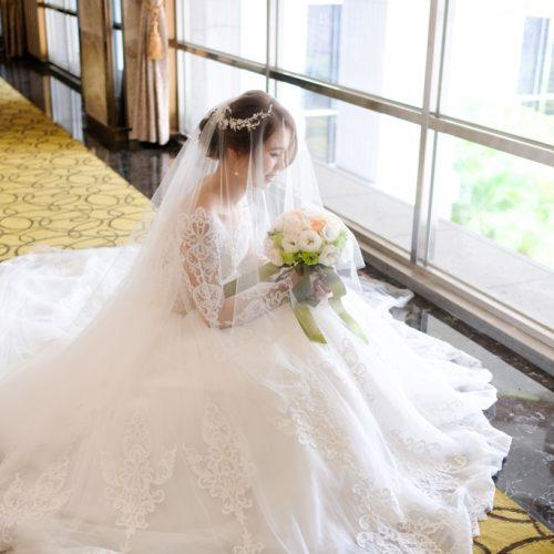 香檳蕾絲婚紗 [台中新秘NADIALEE] 懷超仙珮結婚造型,拓克影像攝影