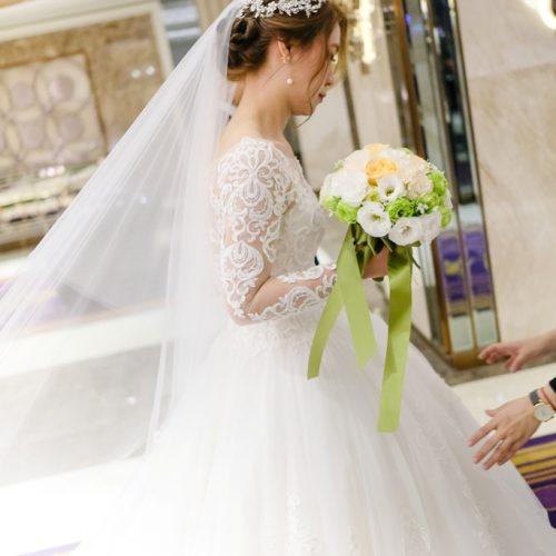 [台中新秘NADIALEE]懷超仙珮結婚造型-台中葳格國際會議中心,拓克影像攝影