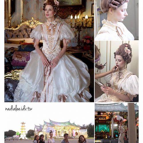 廣告彩妝師NadiaLee - 歐式宮廷風造型