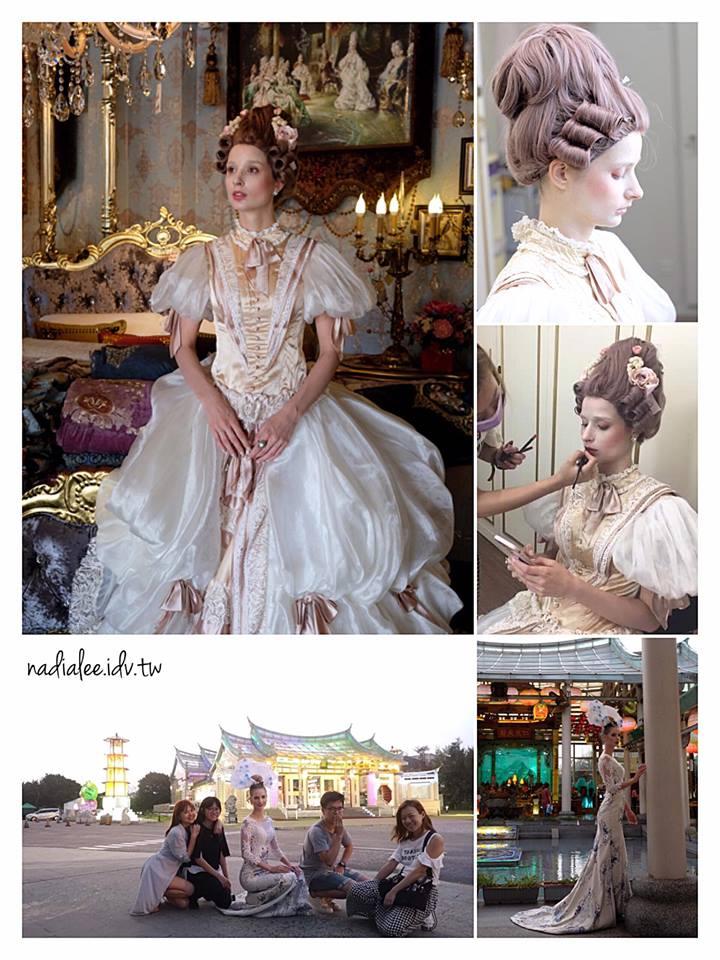 廣告彩妝師NadiaLee - 歐式宮廷風造型 推薦