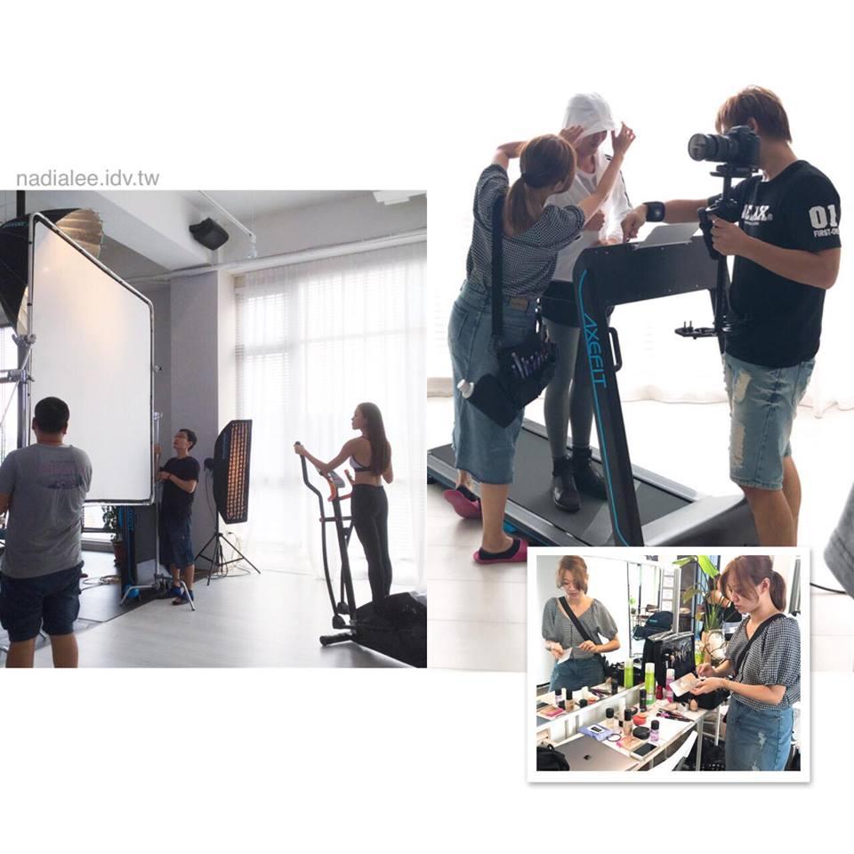 廣告造型師NADIALEE - 運動品牌廣告型錄彩妝造型 推薦