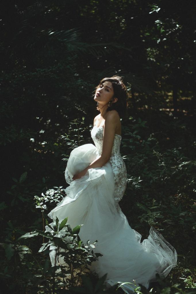 推薦婚紗 - 彩妝NADIALEE 田田婚紗造型推薦 攝影:UJK Image油甲桂