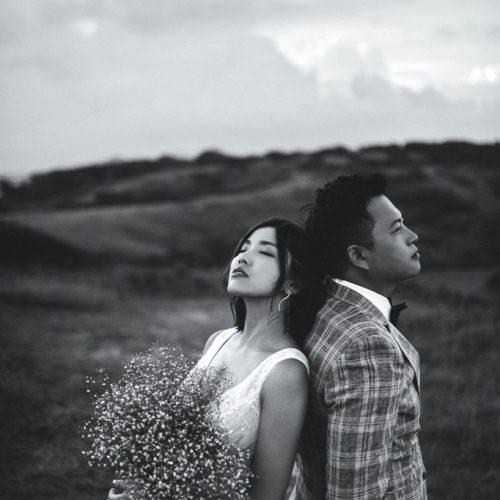 墾丁婚紗 - 彩妝NADIALEE 田田婚紗造型 攝影:UJK Image油甲桂