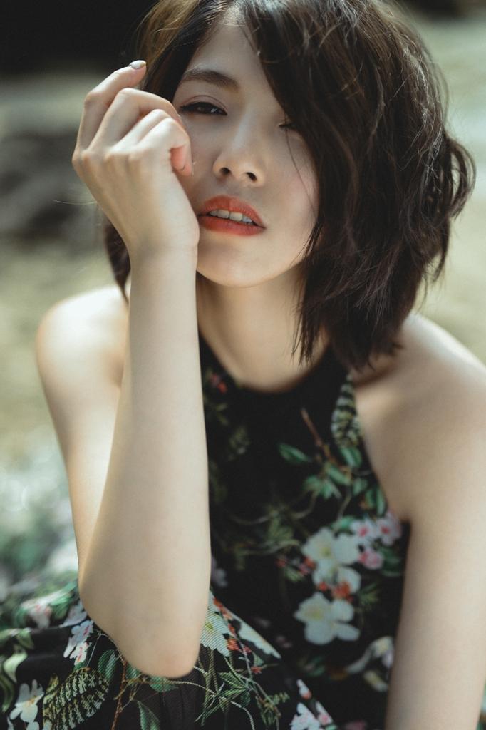 新秘推薦 - 彩妝NADIALEE 田田婚紗造型推薦 攝影:UJK Image油甲桂