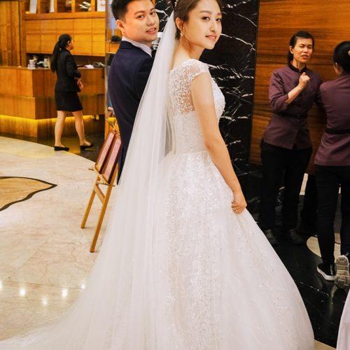推薦新秘 彩妝師NADIALEE - 鈺婷結婚婚禮造型 清水成都