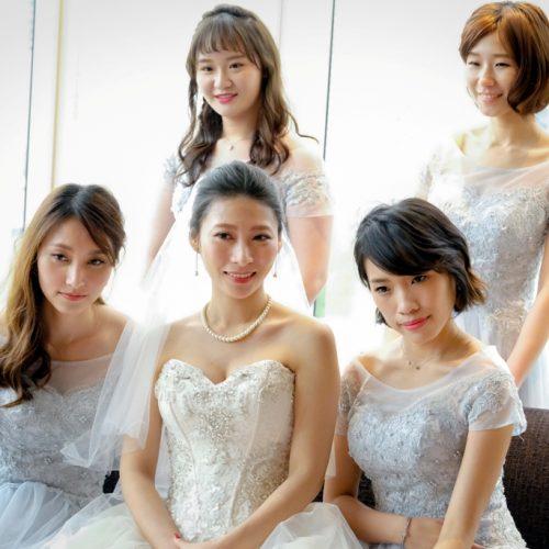 推薦新秘NADIALEE 敏祺婚禮 - 台中林酒店