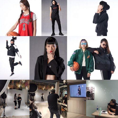 整體造型課程-商業形象拍攝流程:造型主題:運動風 & 黑白時尚