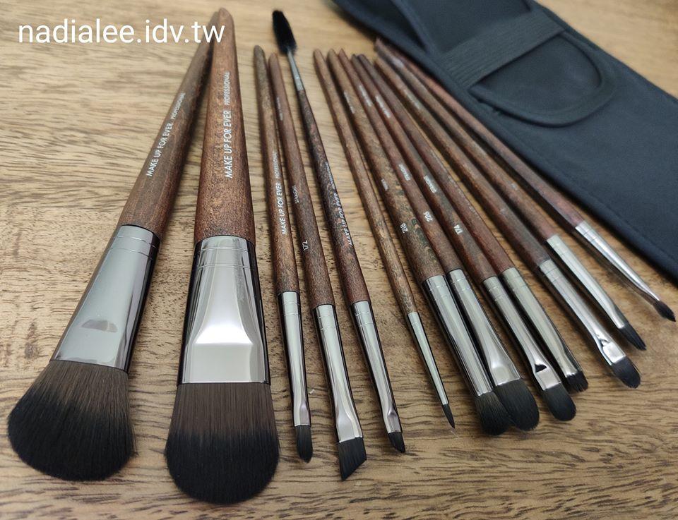 推薦人氣彩妝刷具開箱makeupforever