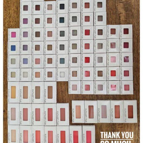 彩妝開箱 ShuUemura 2020年最新100色眼影腮紅包色推薦